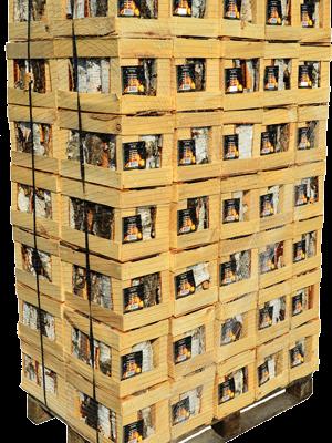 Brezova drva v gajbici - Paleta