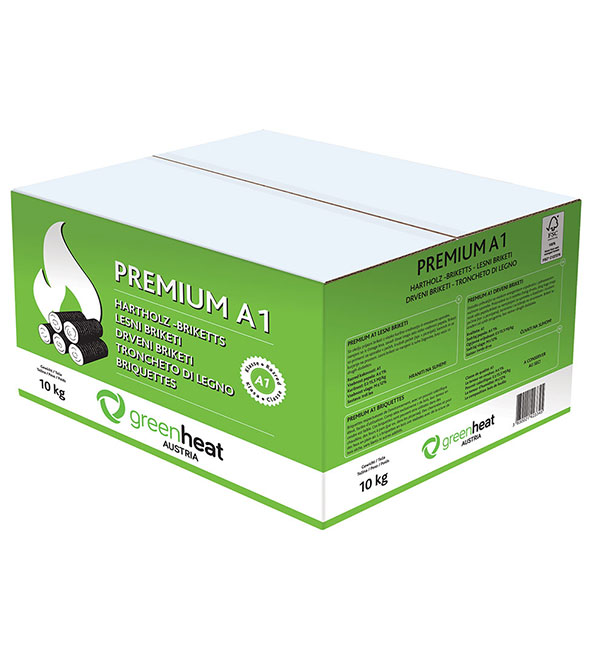 Premium briketi Greeheat 10kg