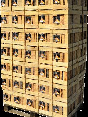 Bukova drva v gajbici - paleta