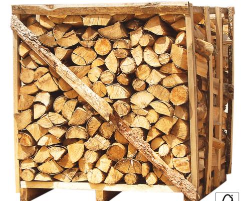 Bukova drva na paleti 1x1x1m