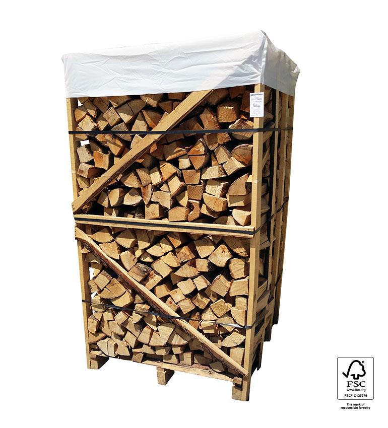 Bukova drva v paleti 1,7 prm