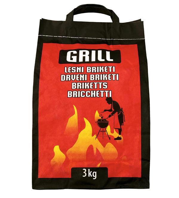 Grill briketi za žar 3 kg
